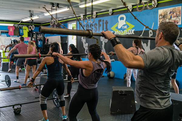 CrossFit Class at Pompano Beach
